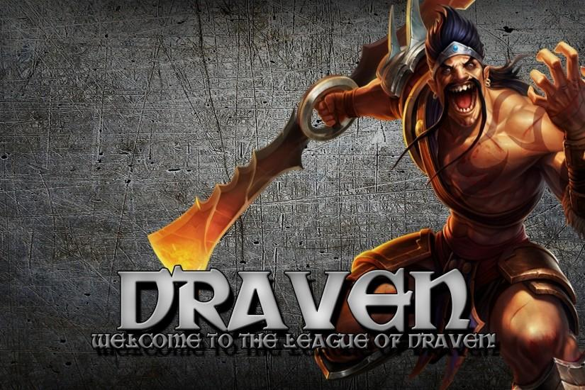 League Of Legends Gladiator Draven Wallpaper Free HD Desktop and Mobile  Wallpaper