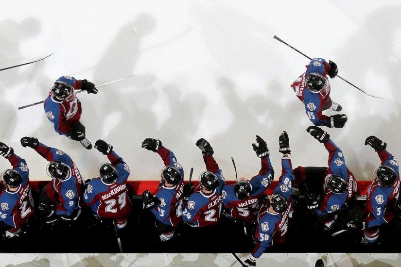 Colorado avalanche nhl hockey wallpaper 2048x1280.