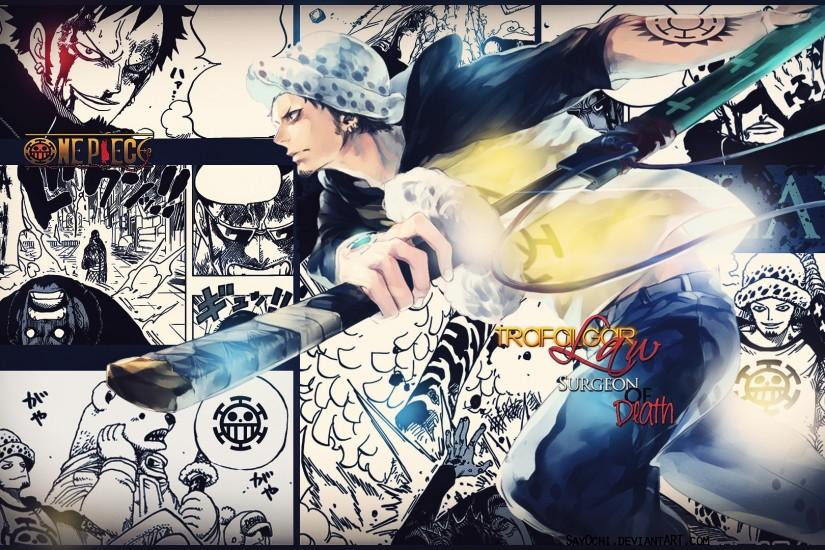... Trafalgar Law One Piece Wallpaper [1920x1080] HD by Say0chi