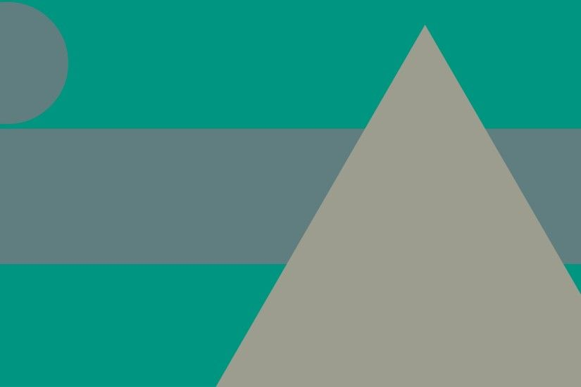 UltraHD wallpaper icon Green and gray material design wallpaper