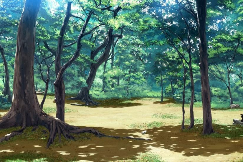 Pix For > Anime Forest Background