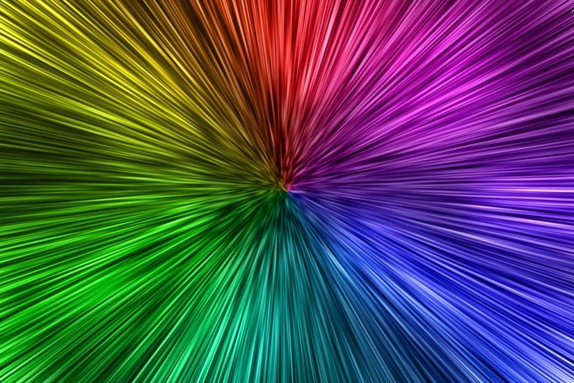 Colorful Pattern Warp Lines Wallpaper