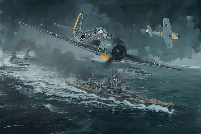 Military - Focke-Wulf Fw 190 World War II Wallpaper
