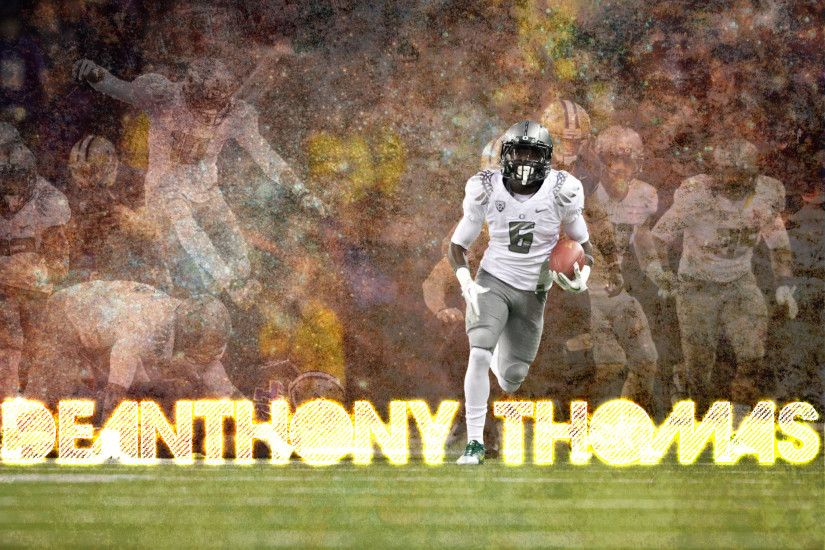 Deanthony Thomas Black Mamba DAT Black Momba Oregon Ducks