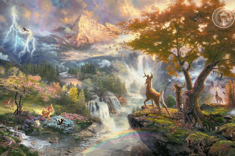 Thomas Kinkade Summer Paintings | Thomas Kinkade Wallpaper 22, 1920x1200