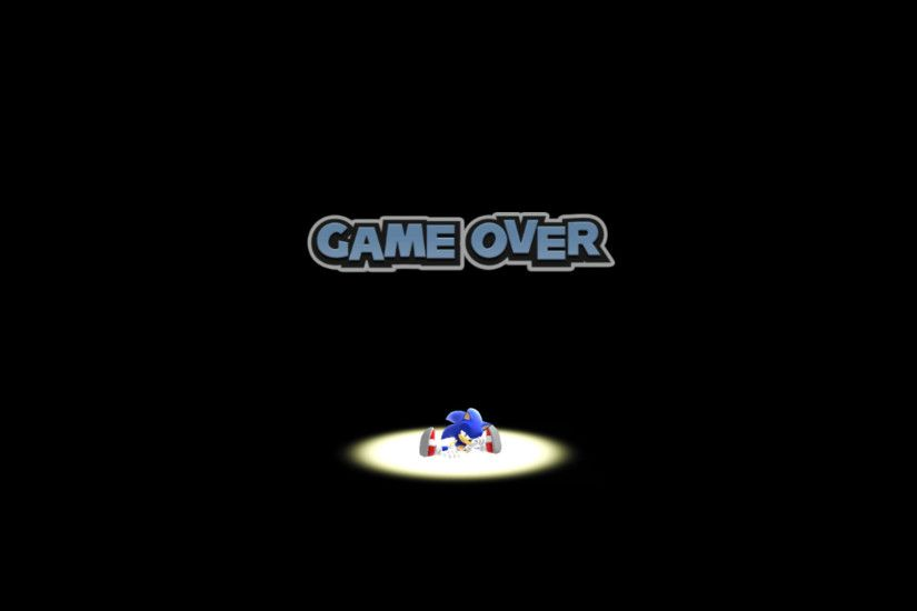 The Game Over screen of the Wii U/PC version of Sonic Lost World.