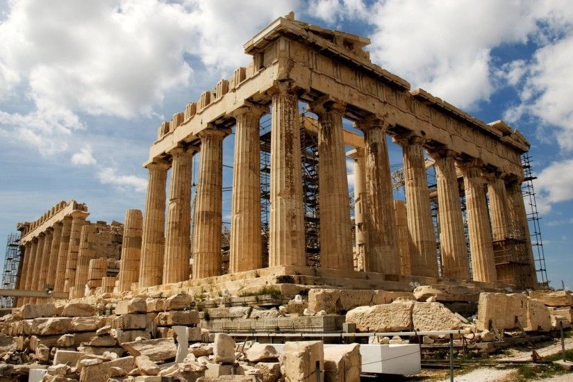 "1024x768 Group of Greek Architecture Game Wallpaper"">"