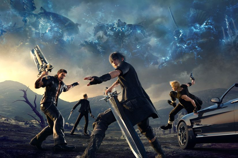 HD Wallpaper | Background ID:746998. 3200x1800 Video Game Final Fantasy XV.  28 Like. Favorite. Deridder45