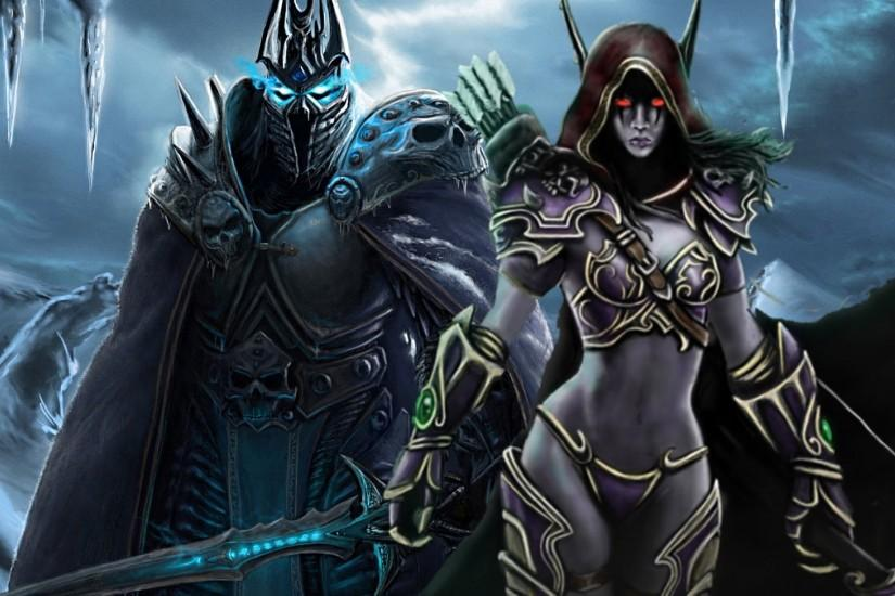 WoW Arthas and Sylvanas' Last Encounter - Halls of Reflection