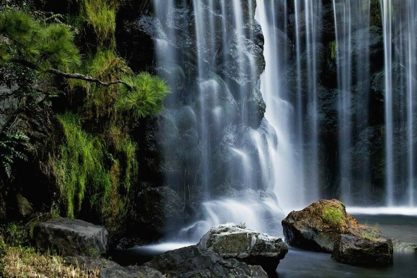 1920x1080 The beautiful waterfall desktop backgrounds wide wallpapers:1280x800,1440x900,1680x1050  - hd