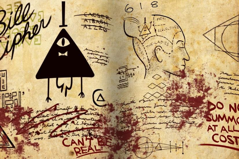 bill cipher wallpaper 1920x1080 laptop