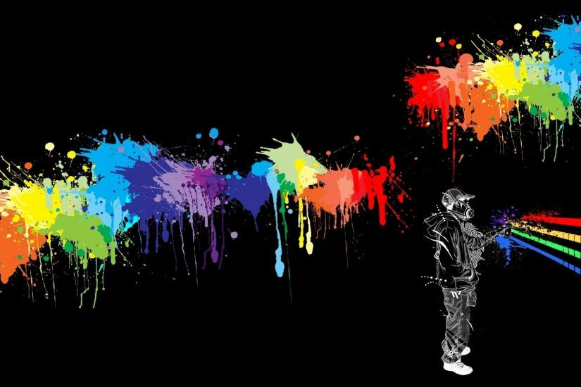 Cool Music Graffiti Backgrounds Graffiti Wallpapers - Wallpaper Hd