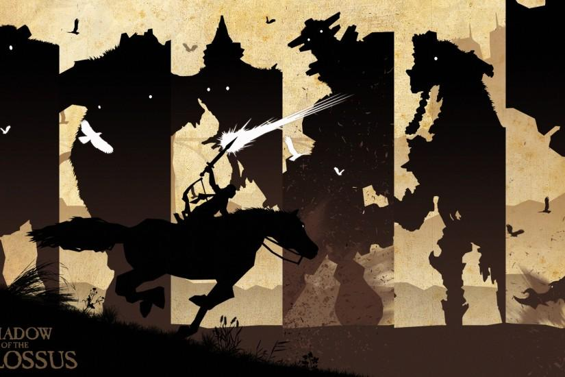 large shadow of the colossus wallpaper 1920x1080