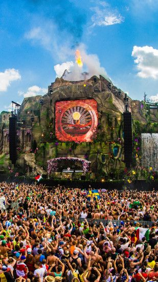 Wallpaper HD iPhone Tomorrowland 2013 - Free Download