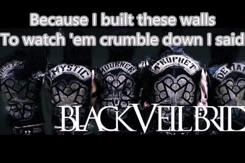 black veil brides lost it all