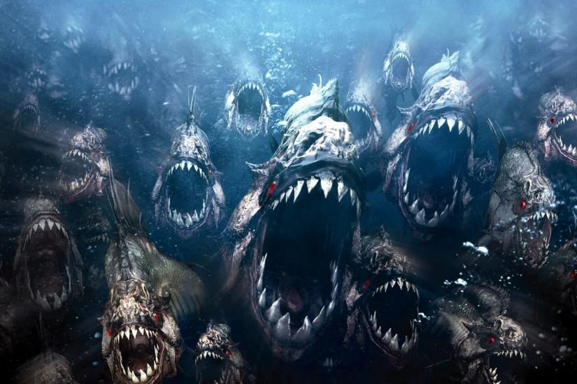 HD Movie Wallpapers | Piranha Movie HD Wallpaper #4694