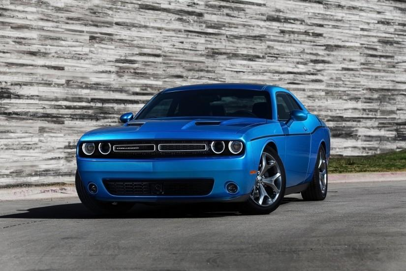 2015 Dodge Challenger Blue