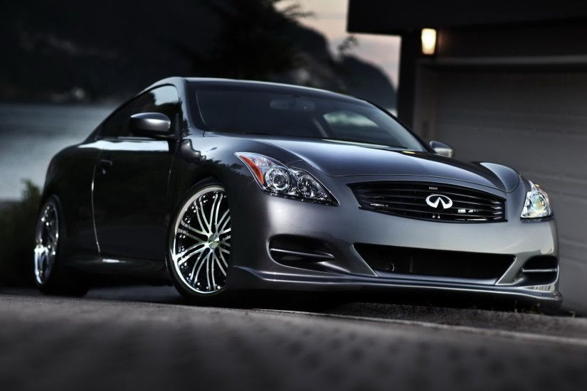 Cool wallpaper of Infiniti wallpaper of G37 coupe tuning car evening  2240x1400