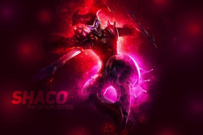 ... Shaco The Demon Jester - Wallpaper 1920x1080 by AliceeMad