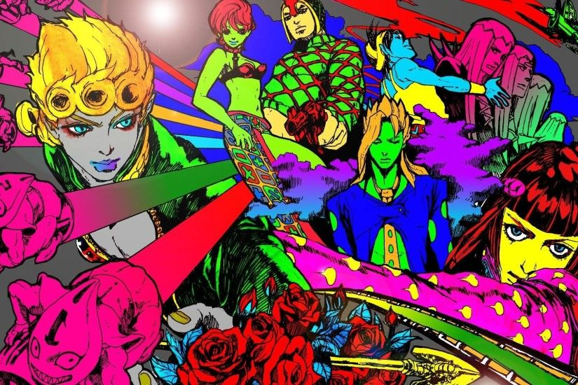 1920x1080 JoJo's Bizarre Adventure HD Wallpaper 1920x1080 JoJo's .