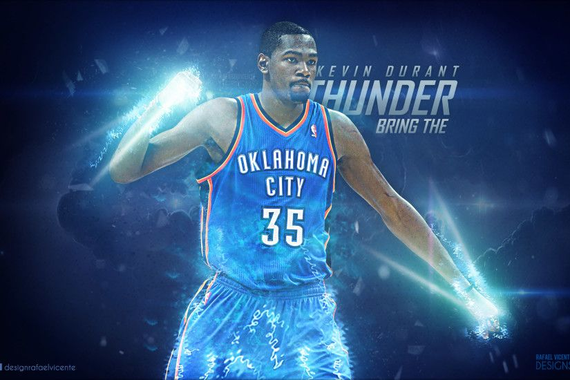 NBA Super Star Wallpaper - Kevin Durant, Bring The Thunder!