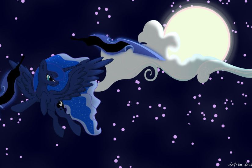 Image - Princess Luna wallpaper by artist-dotrim.png | My Little Pony Fan  Labor Wiki | FANDOM powered by Wikia