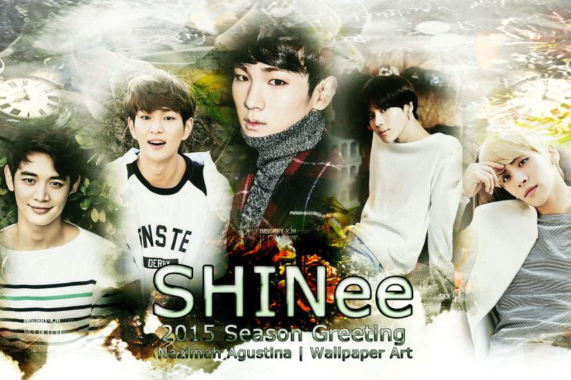 Shinee wallpaper shinee 2015 season greeting awesome wallpaper onew minho key jonghyun taemin by nazimah voltagebd Image collections