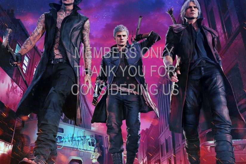 Devil May Cry 5 1920x1080 Mobile wallpaper or background 01