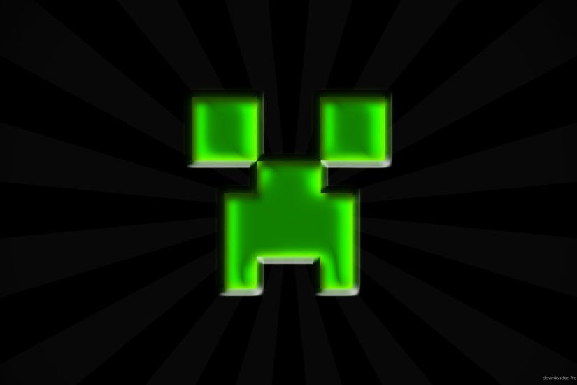 Simple Minecraft Creeper Wallpaper picture