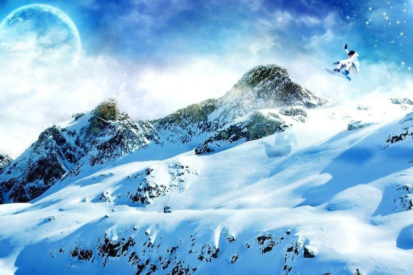 Wallpapers For > Hd Snowboarding Wallpapers