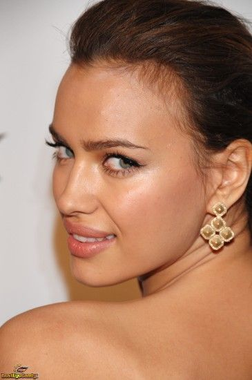 Irina Shayk makeup natural