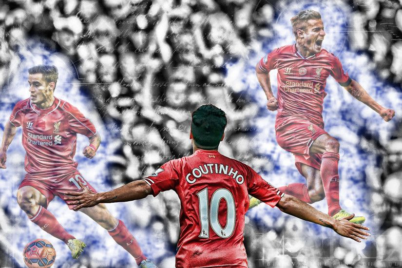 Philippe Coutinho Wallpaper by SoccerMagna Philippe Coutinho Wallpaper by  SoccerMagna