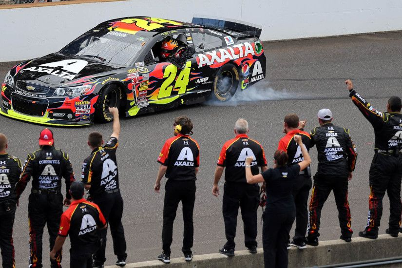 Jeff Gordon wins at Indy for record fifth time | NASCAR | Sporting News
