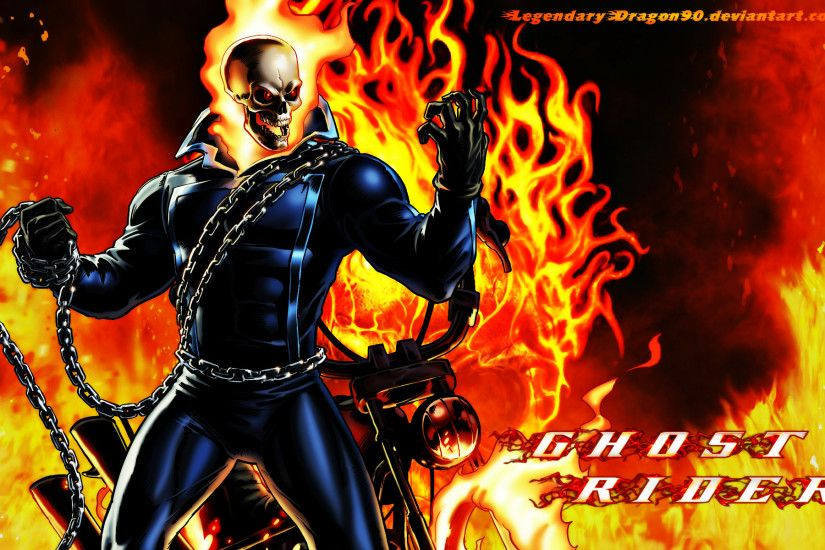 Ghost Rider by LegendaryDragon90 Ghost Rider by LegendaryDragon90