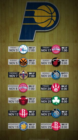 Indiana Pacers 2017 schedule hardwood nba basketball logo wallpaper free  iphone 5, 6, ...