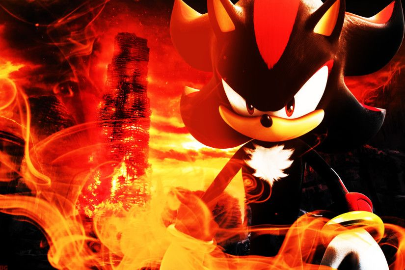 Shadow The Hedgehog - Wallpaper by SonicTheHedgehogBG Shadow The Hedgehog -  Wallpaper by SonicTheHedgehogBG