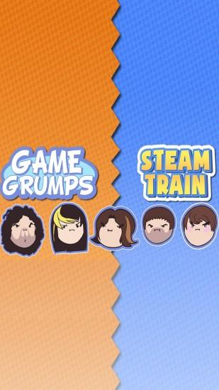 Made a Samsung Galaxy Game Grumps wallpaper, hopefully you all like it!