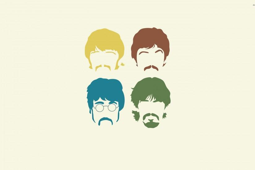 Minimalistic Beatles Wallpaper