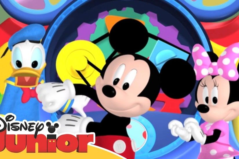 Disney Junior Garden Party - Mickey Mouse Clubhouse Hot Dog Dance - YouTube