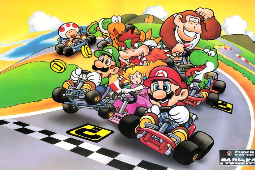 ... Super Mario Kart by NEO-Musume