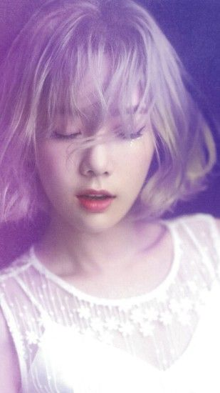 Related taeyeon snsd kpop girl purple pink iphone 7 wallpaper
