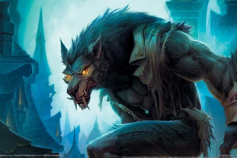 world of warcraft cataclysm worgen worgen gilneas blizzard