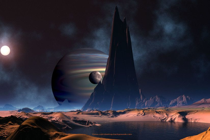 Background backgrounds space planet scifi planets desktop | Space .