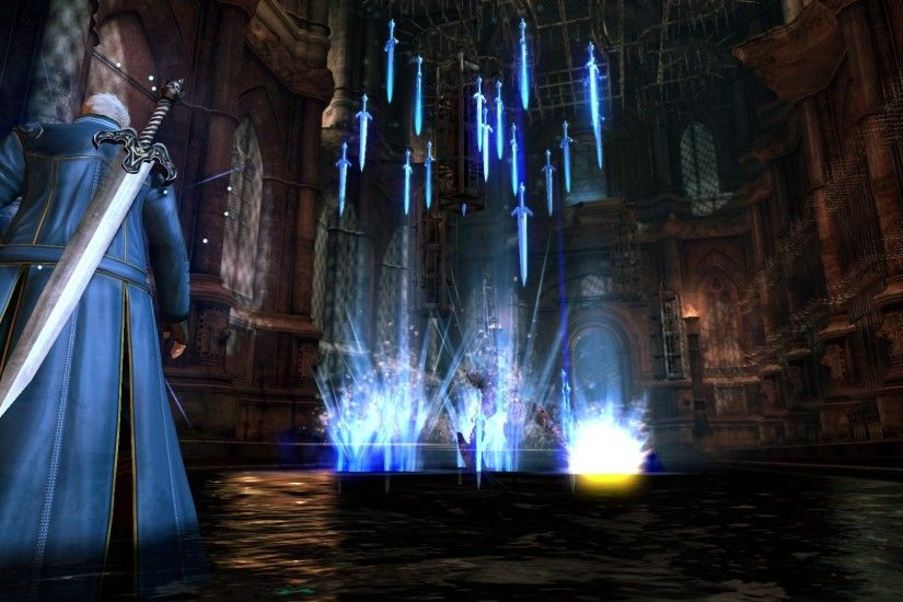 Devil May Cry 4's galleries