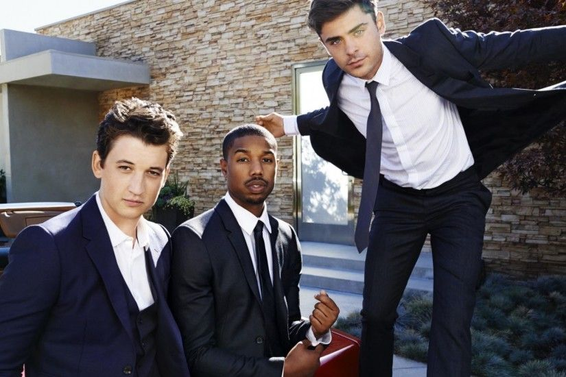 Download Wallpaper Zac efron, Michael b jordan, Kate mara, Jamie .