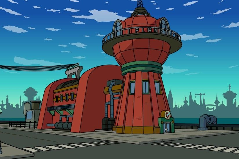 Futurama Planet Express Headquarters HD Wallpaper From Gallsource.com