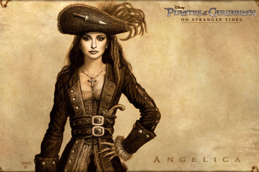 ... Angelica - The Pirates of the Caribbean - On Stranger Tides