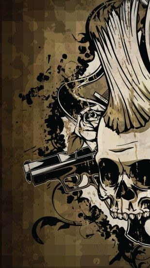 Skull Wallpaper For Android Wallpapersafari