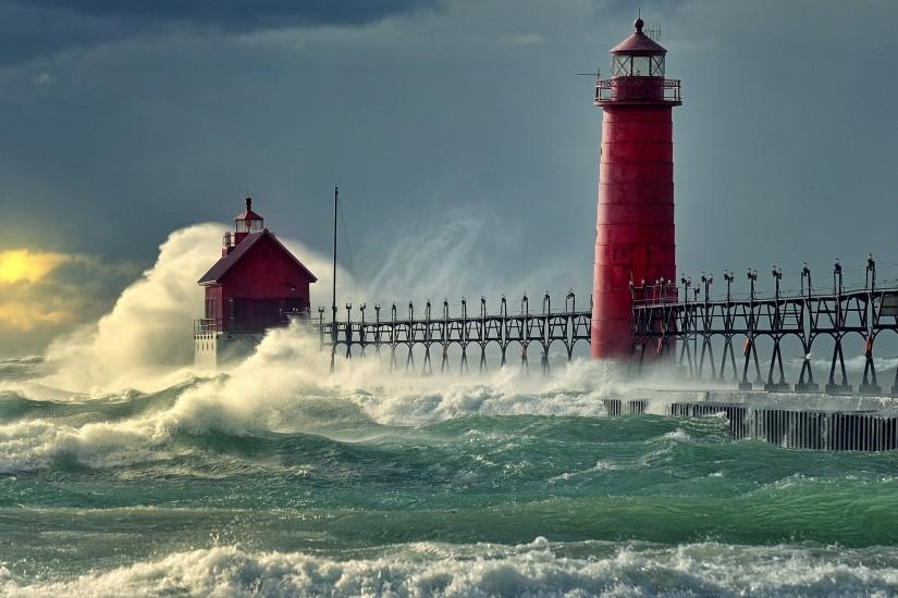 Lighthouse wallpaper. Download ...