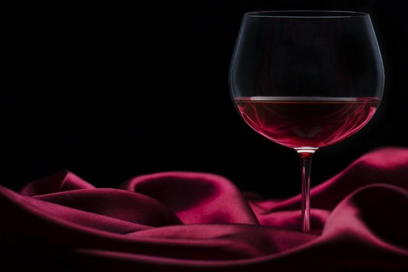wine red glass silk satin burgundy black background
